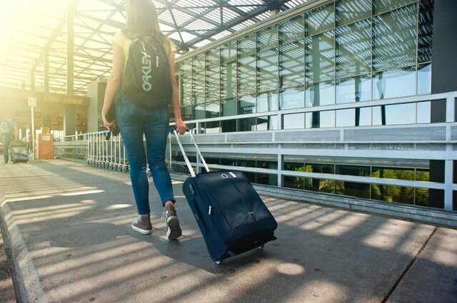adult airport arrival miles